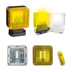 Lampeggiatori e segnalatori a LED