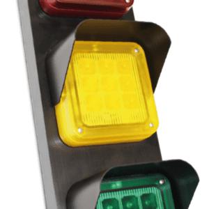 traffic 3 feu de signalisation à LED trois lentilles